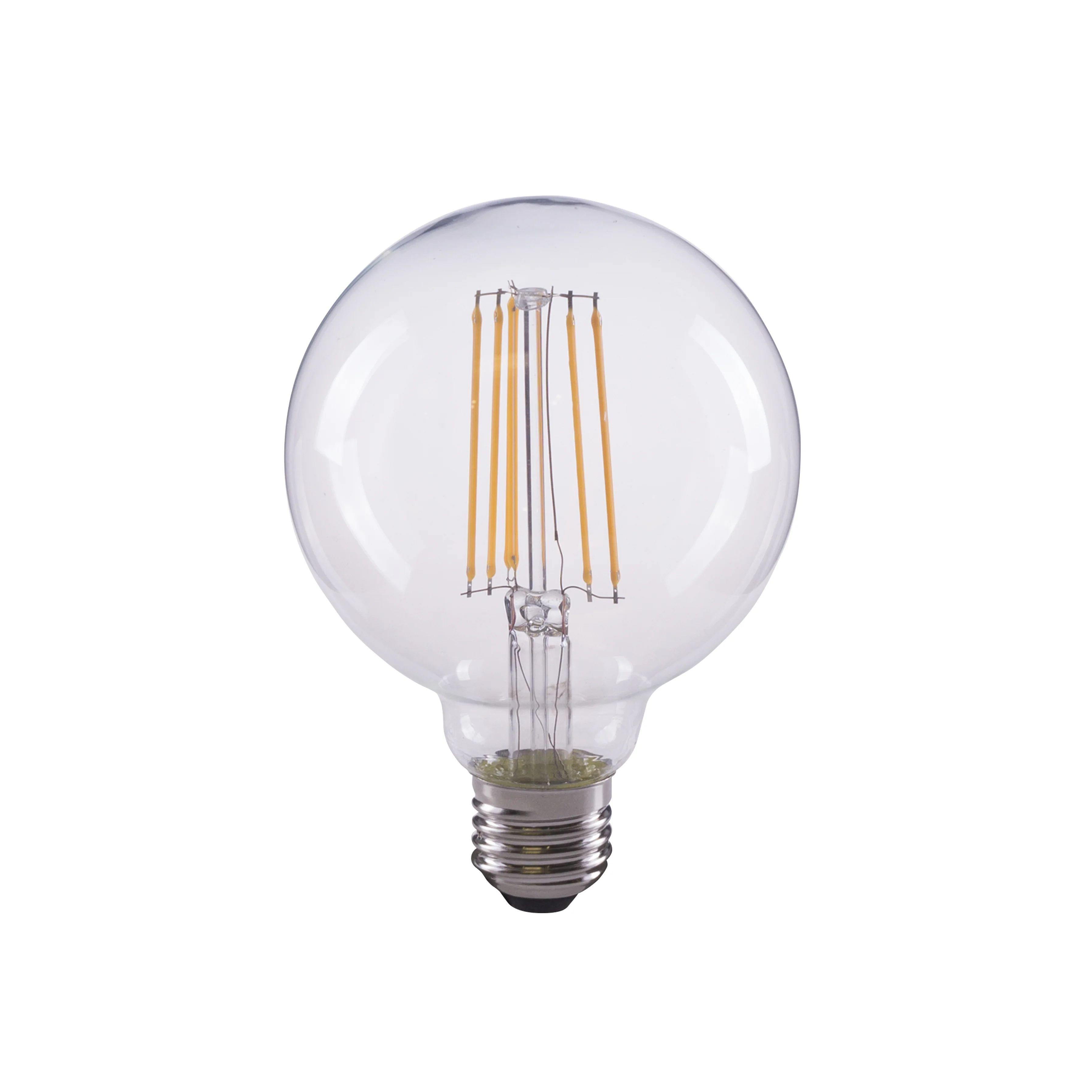 Ampoule Led A Filament Globe 95 Mm E27 1055 Lm 75 W Blanc Chaud Lexman Leroy Merlin