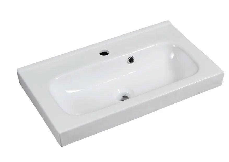 Plan Vasque Simple Ceramique L 61 X P 35 Cm Leroy Merlin