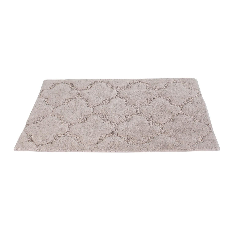 tapis de bain l 50 x l 80 cm fossil 6 floral