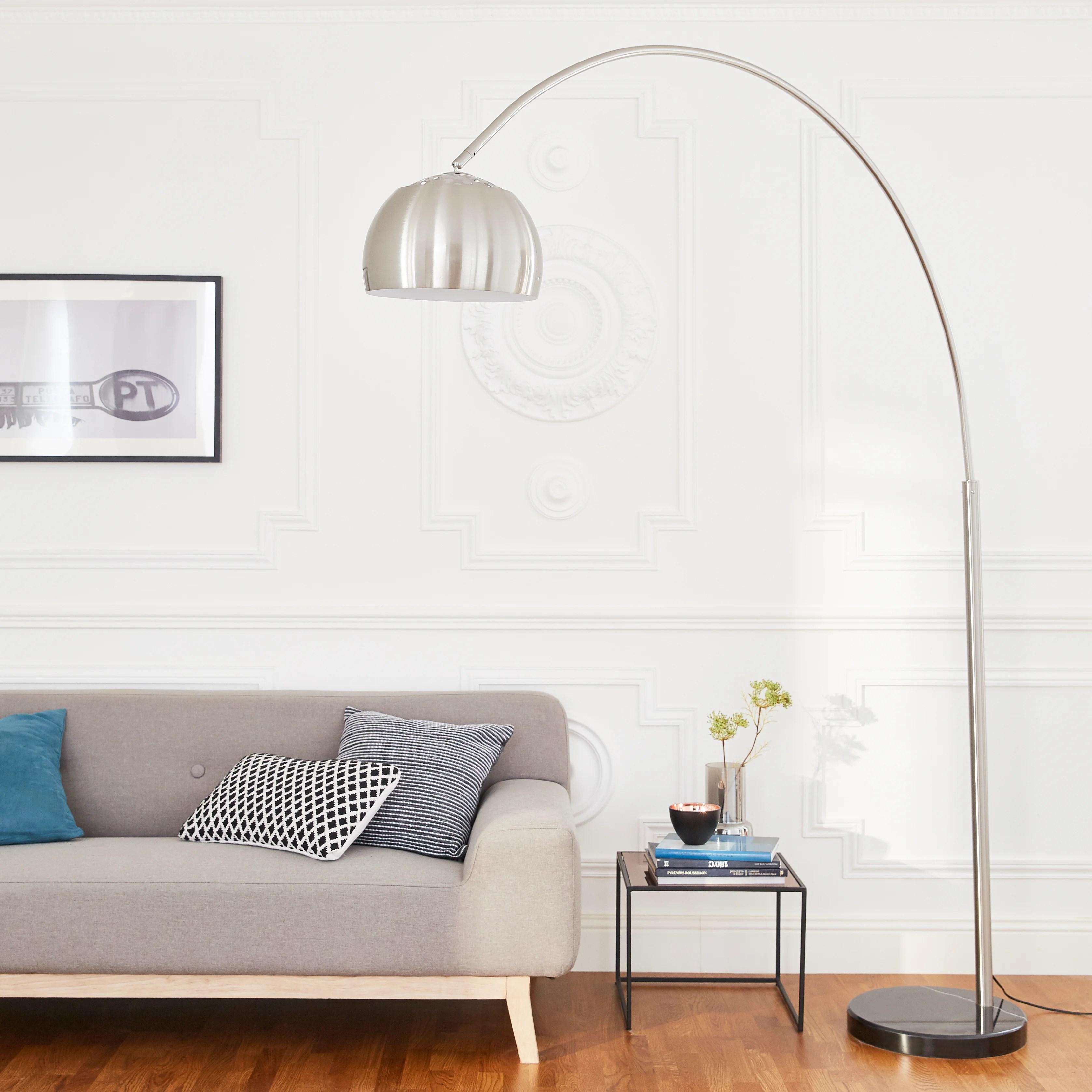 Lampadaire Arc Metal Inspire Big Sofa Leroy Merlin