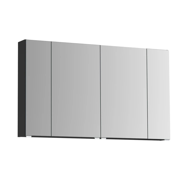 armoire de toilette opale armoire de toilette l 120 cm noir opale