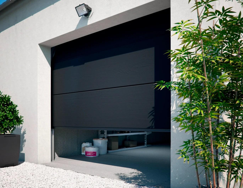 Porte De Garage Sectionnelle Primo Leroy Merlin