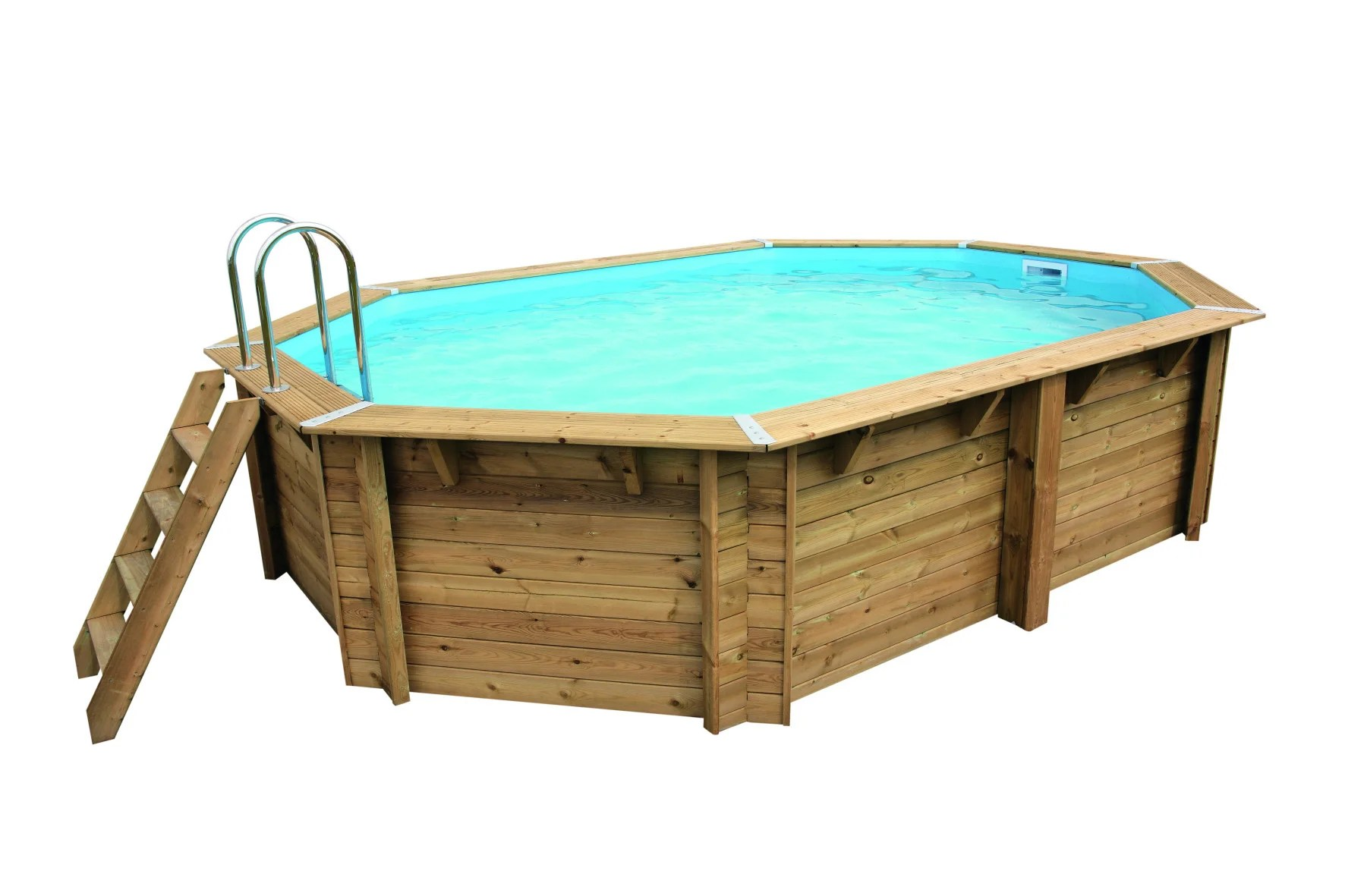 piscine samoa ubbink ovale x l de 5 a
