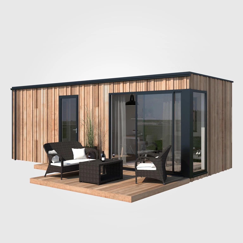 Studio De Jardin Bois Boximby En Kit 21 M Leroy Merlin
