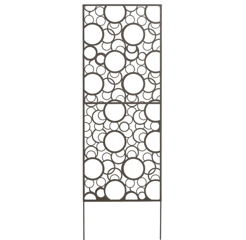 Panneau Metal Decoratif Cercle L 60 X H 150 Cm Leroy Merlin