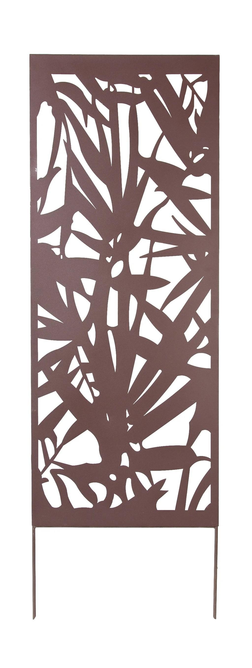Panneau Metal Decoratif Palmier L 60 X H 150 Cm Leroy Merlin