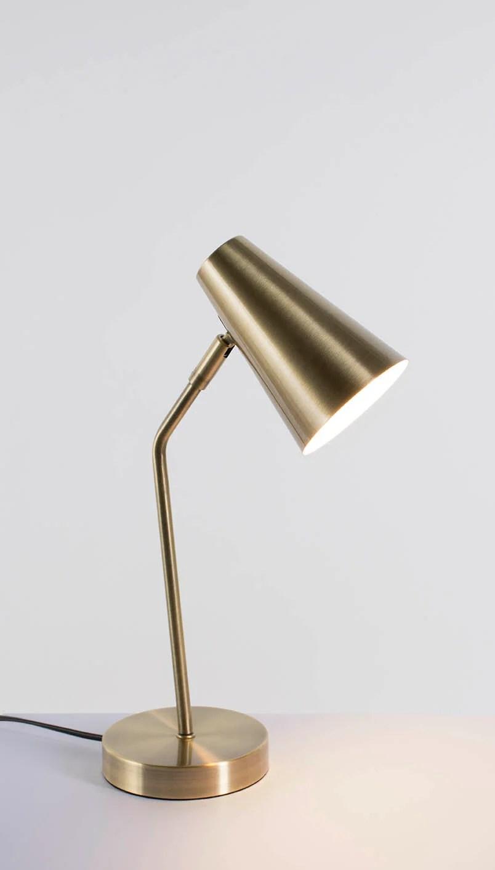 Lampe Chic Metal Laiton Corep Charlie Leroy Merlin