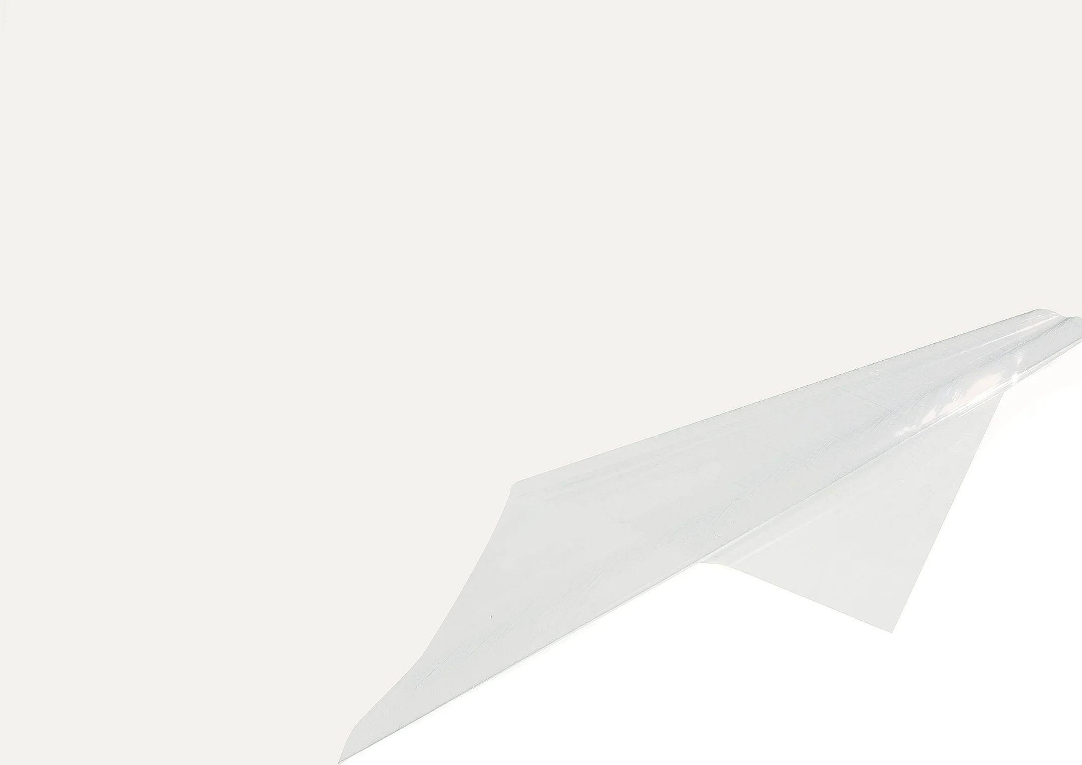 nappe rectangulaire l 150 x l 250 cm pvc antitache transparent murano