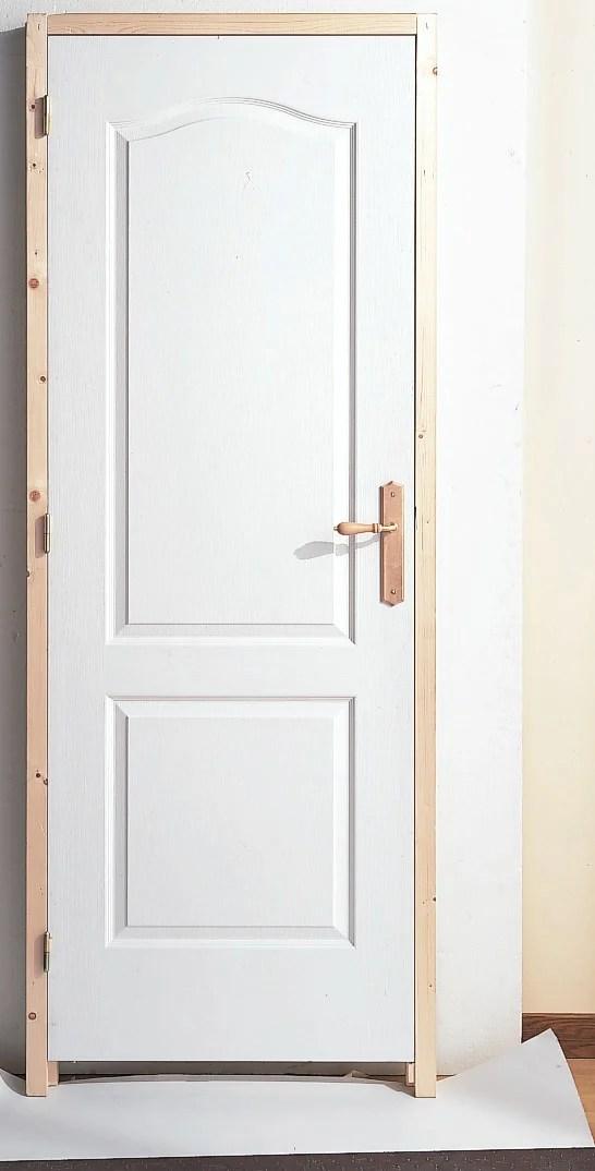 bloc porte isothermique postforme h 204 x l 73 cm
