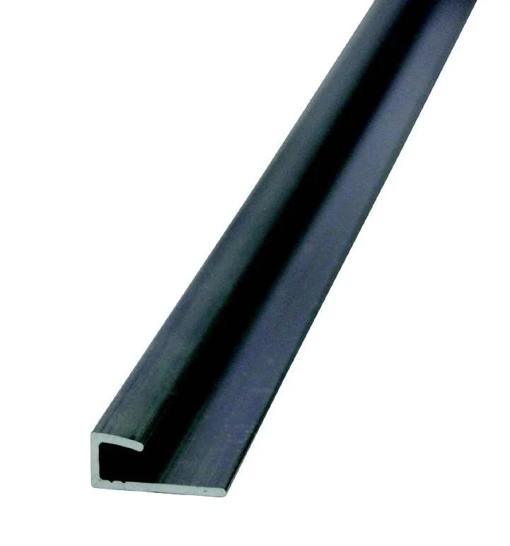 Profile Aluminium Mat Argent L 3 M X L 0 7 Cm X H 30 Cm Leroy Merlin
