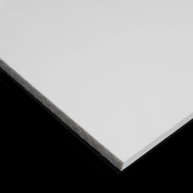 plaque pvc expanse 3 mm blanc lisse l