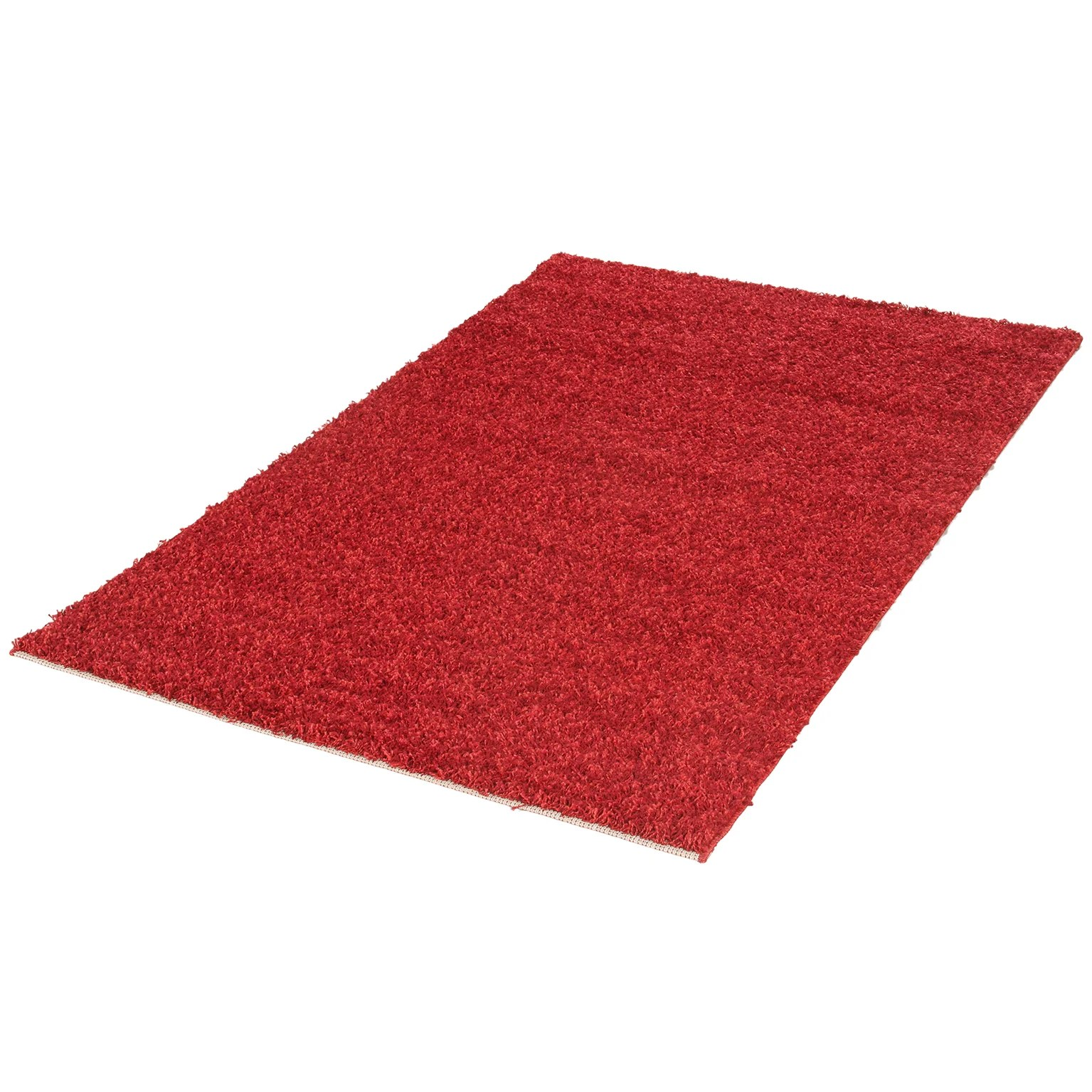 tapis rouge rectangulaire l 80 curly leroy merlin