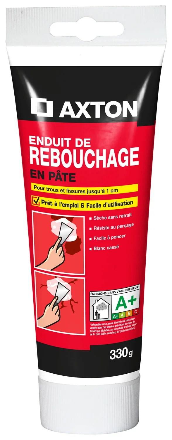 Enduit De Rebouchage Axton 0 33 Kg En Pate Pour Plaque De Platre Leroy Merlin