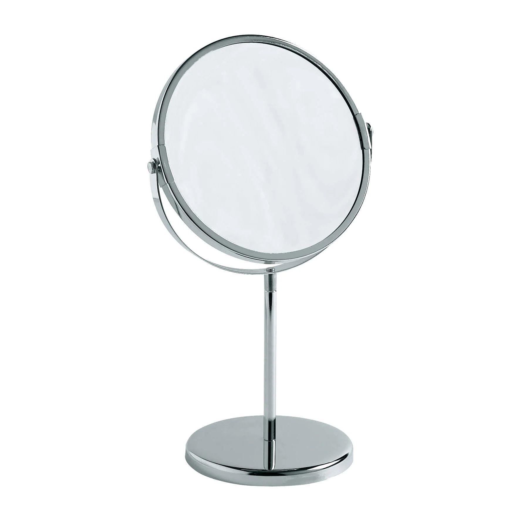 Miroir Grossissant X 3 Rond A Poser H 17 X L 17 X P 17 Cm Design Leroy Merlin