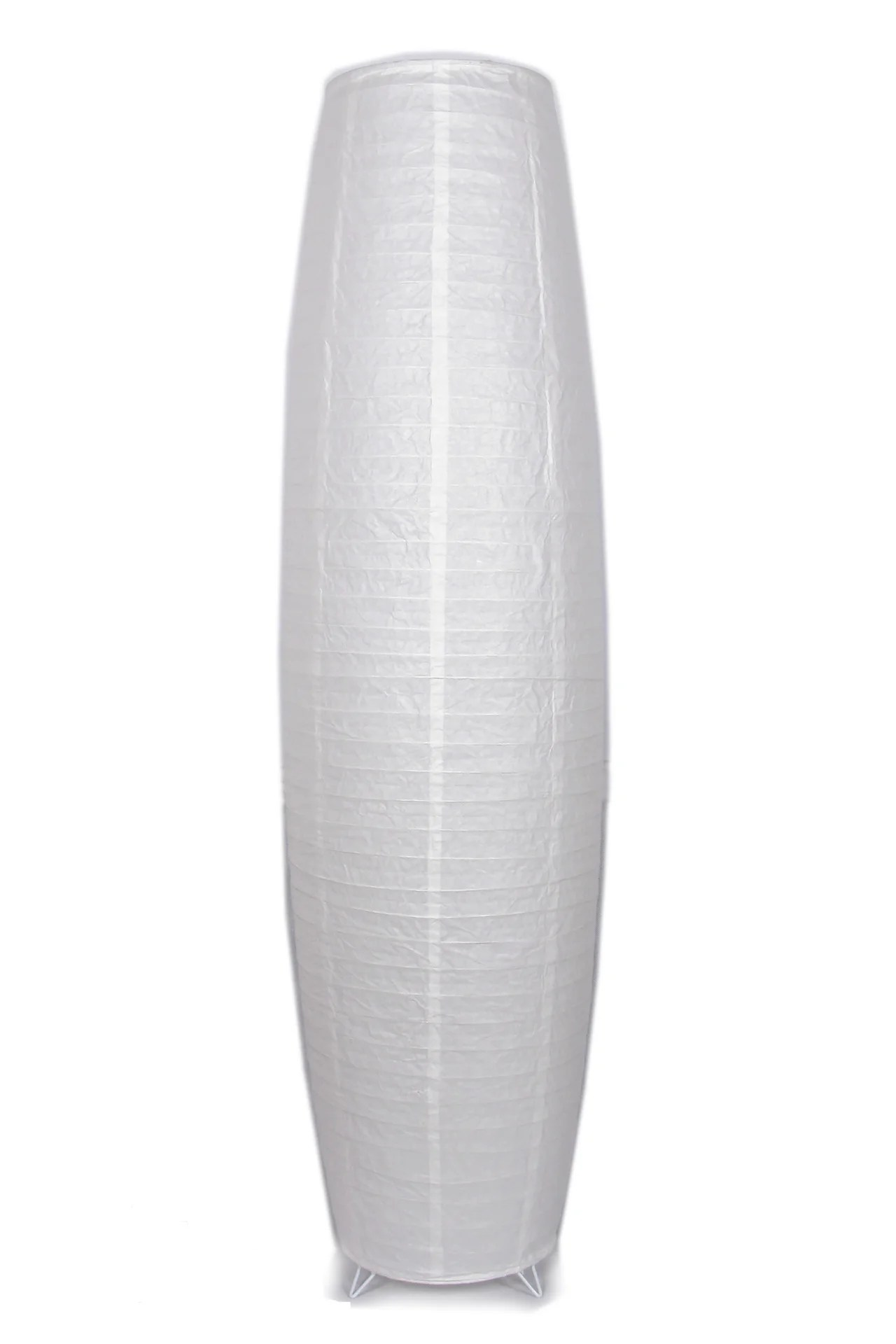 Abat Jour Anjo H 160 Cm Diam 36 Cm Papier Blanc Leroy Merlin