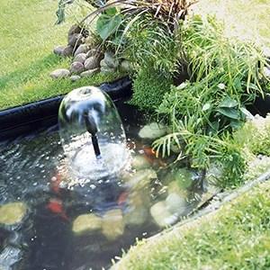 bassin et decoration de jardin leroy