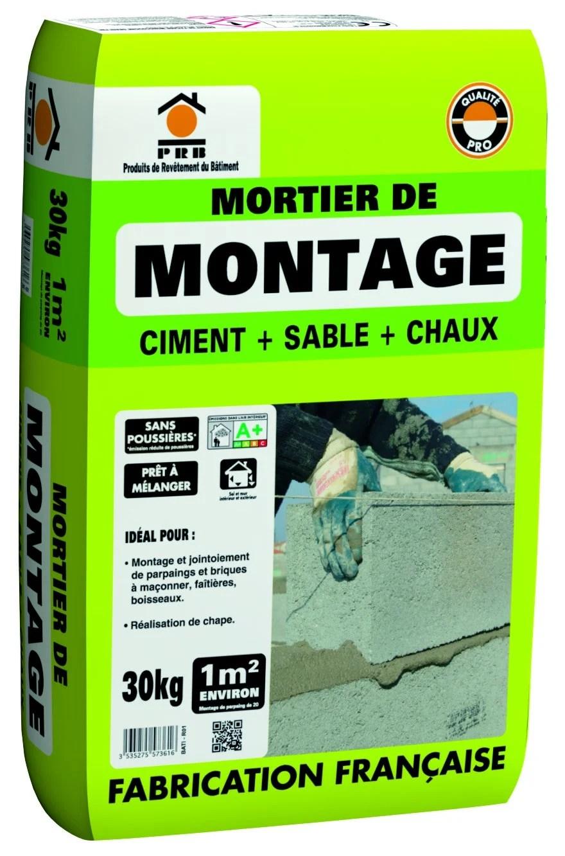 Mortier De Montage Leroy Merlin