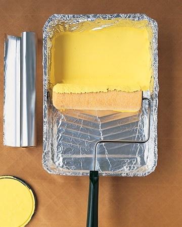 5 Trucos De Pintura Con Papel De Aluminio