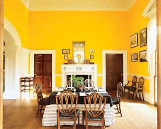8 Bellos Comedores En Color Amarillo Paperblog