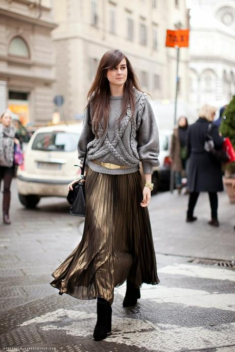 Inspiration: Pleated Skirts