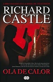 """Portada de """"Ola de calor"""". Richard Castle."""