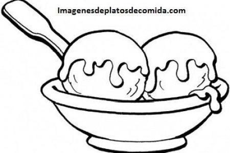 best Imagenes De Platos De Comida Para Colorear image collection