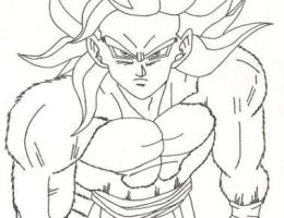 Imagenes De Goku Para Dibujar A Lapiz De Fase 4 Facil On