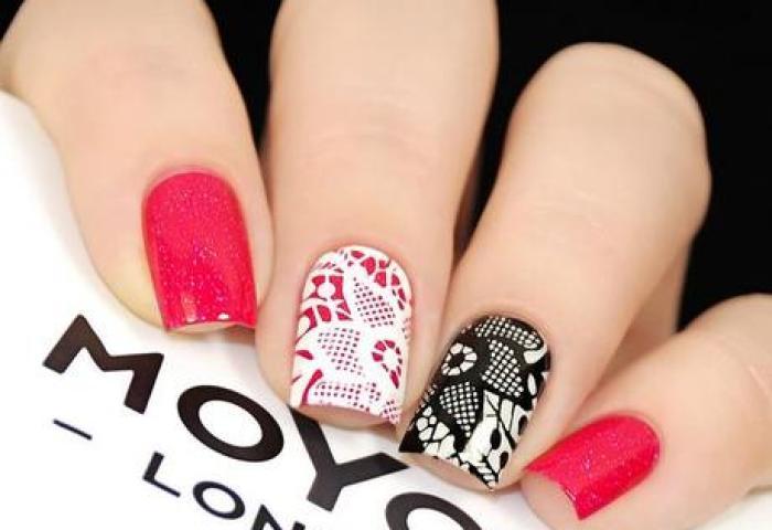 Uñas Rojas Decoradas Diseños Con Colores Y Formas Elegantes Paperblog
