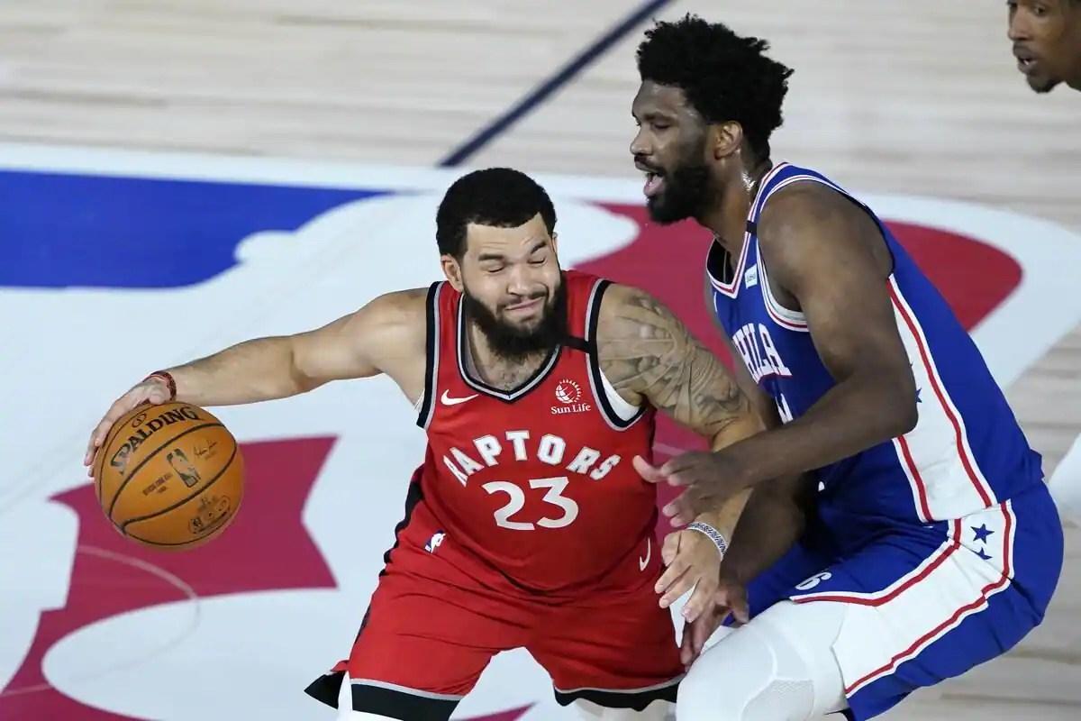Les Raptors s'imposent face aux 76ers