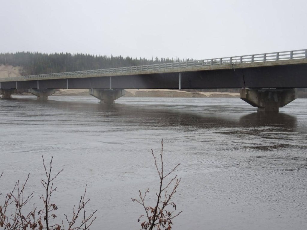Le blocage persiste sur la rivière Moisie