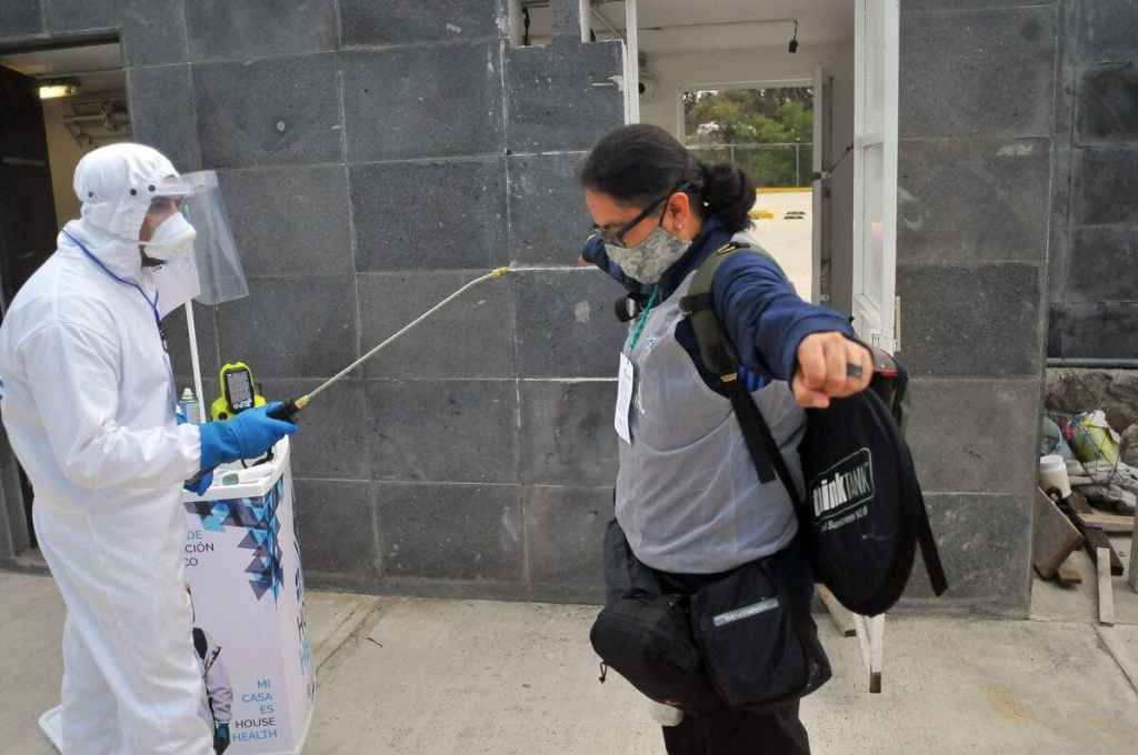 Nouveau record de contaminations au Mexique