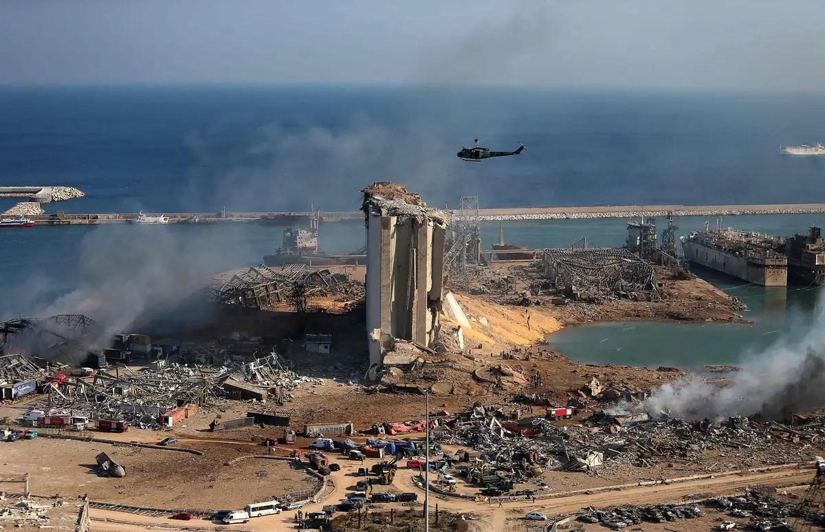 Pendant six ans, un produit à haut risque stocké au port de Beyrouth