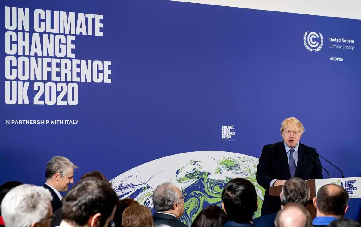 La COP26 pour le climat repoussée à fin 2021