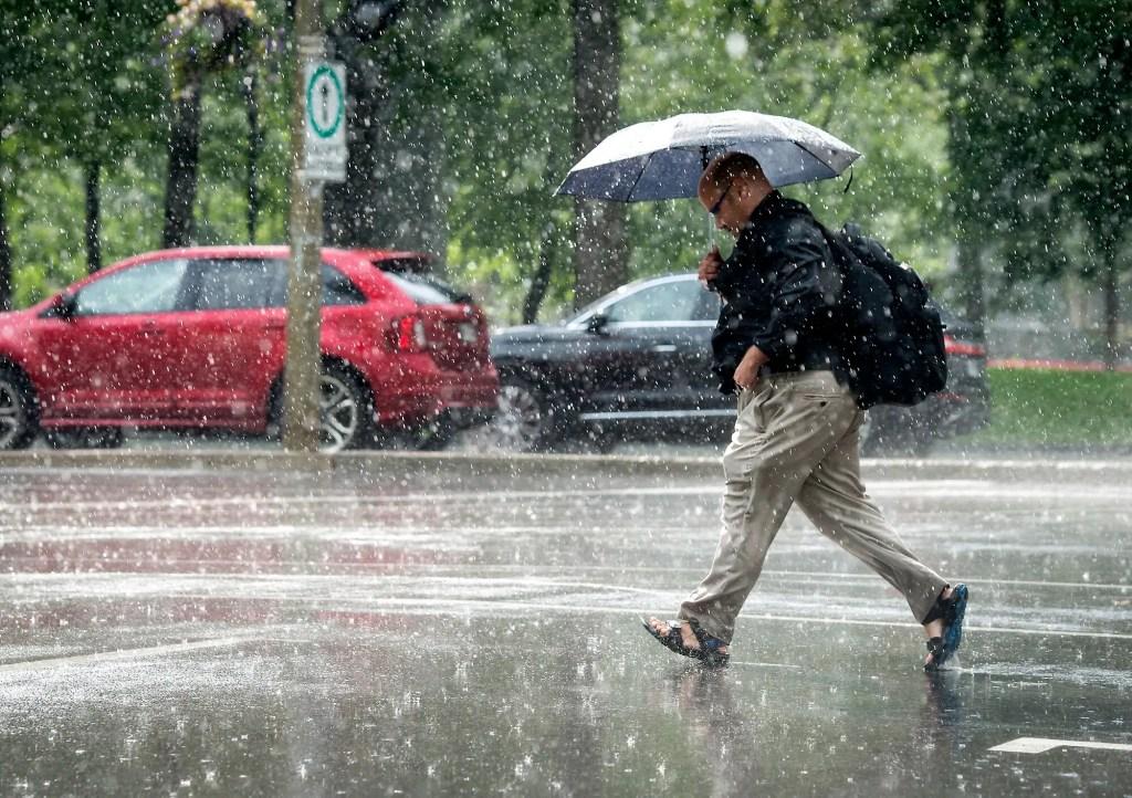 Lac-Saint-Jean: quantités de pluie record à Roberval