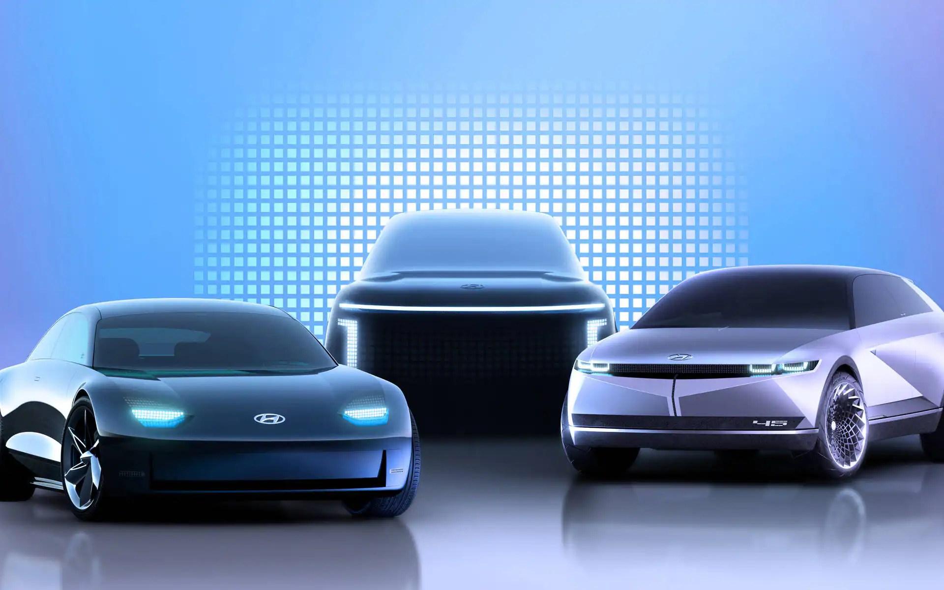 IONIQ: nouvelle marque de véhicules électriques