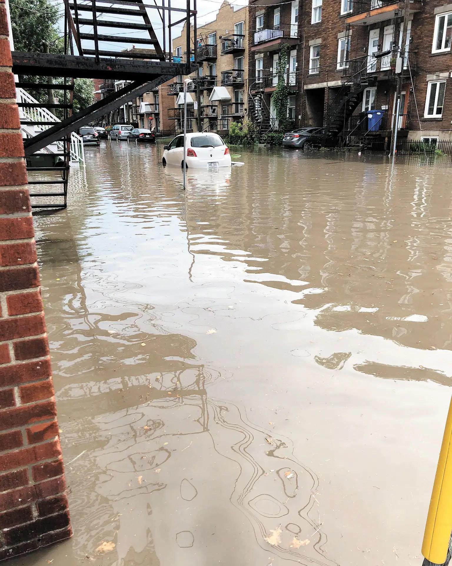 Tannés d'être inondés chaque fois qu'il pleut fort
