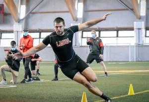 David Côté démontre ses qualités athlétiques