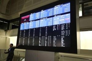 La Bourse de Tokyo paralysée par un problème technique