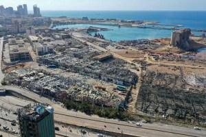 Explosion à Beyrouth: 16 fonctionnaires du port en détention