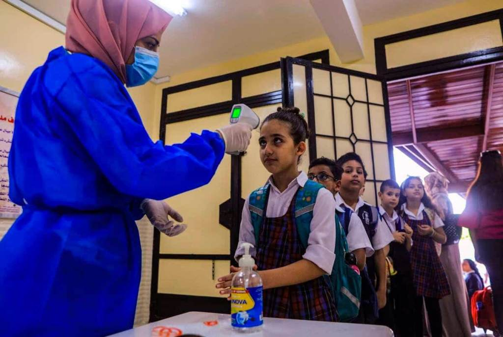 Gaza: réouverture des écoles malgré des craintes liées au virus