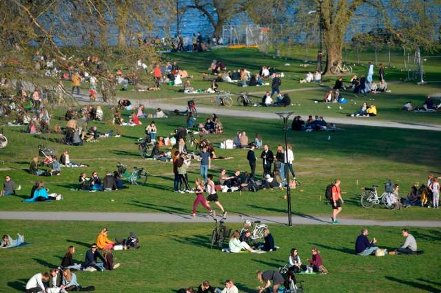 Sweden : a tonne of manure to discourage the partiers in the parks