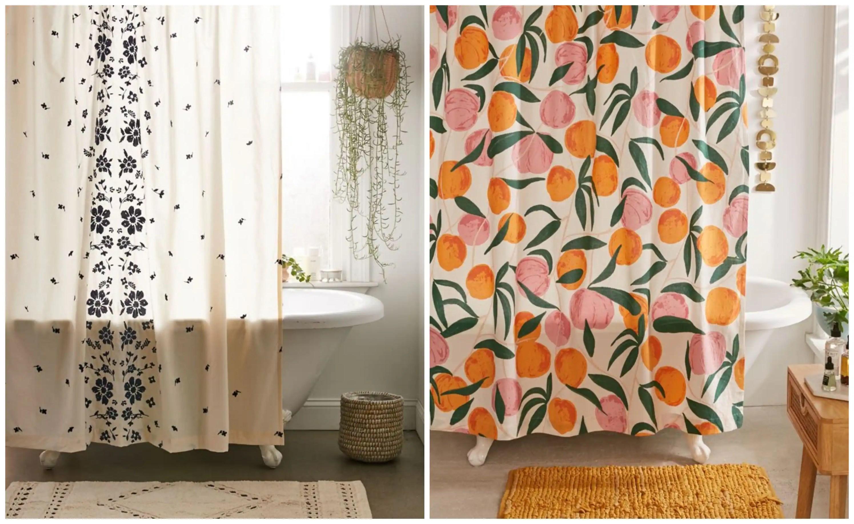 10 beaux rideaux de douche qui
