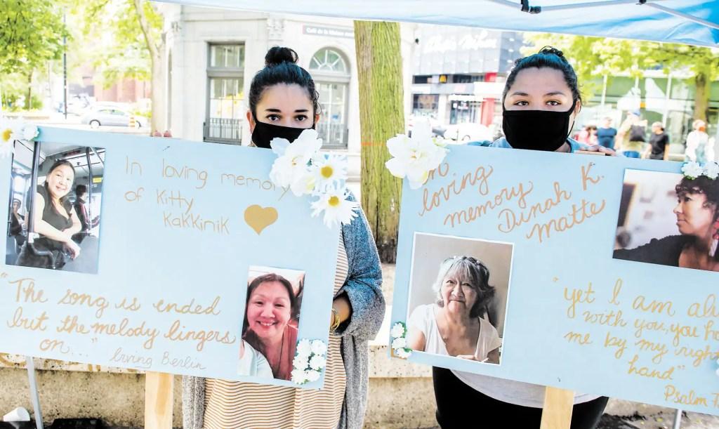 Indignation devant la mort de deux itinérantes inuites