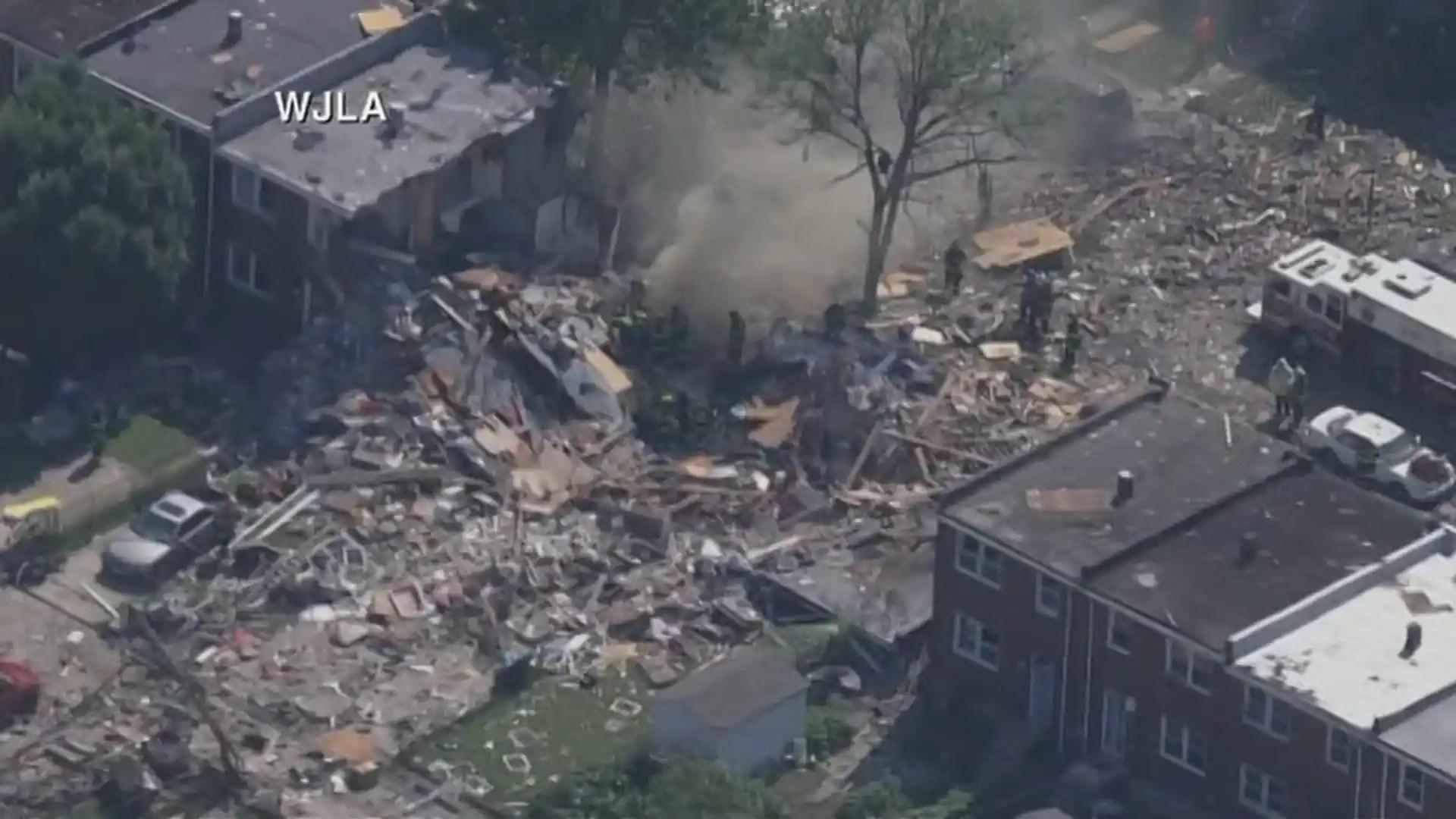 Une explosion détruit plusieurs maisons à Baltimore, au moins un mort