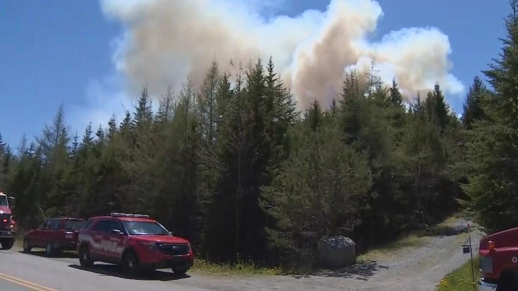 1000 résidents évacués en Nouvelle-Écosse