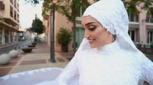 [EN IMAGES] Une future mariée soufflée par les explosions à Beyrouth