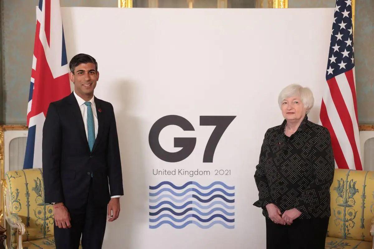 Impôt minimum mondial et environnement au menu du G7 Finances à Londres