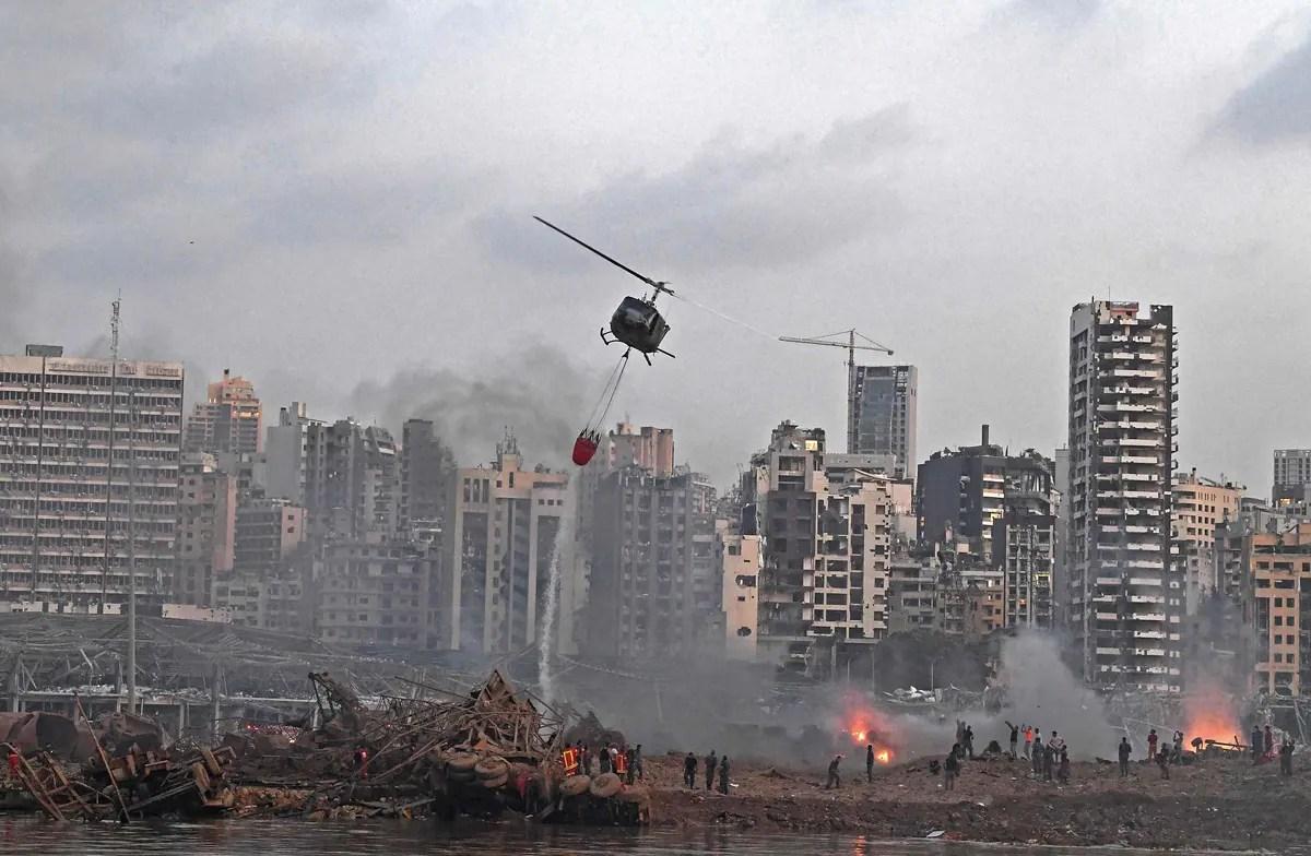 Explosions à Beyrouth: «les cadavres sont partout», raconte une résidente