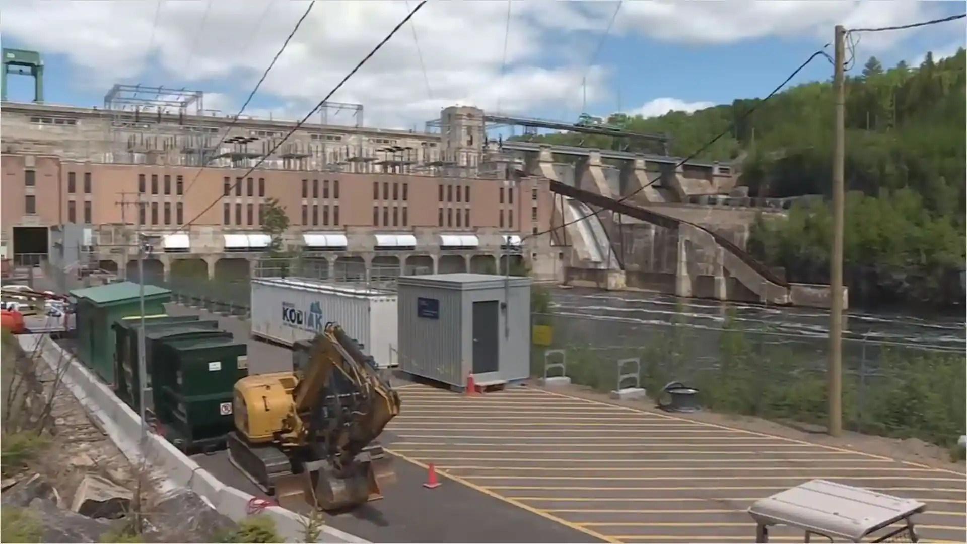 Le chantier de la vieille centrale Rapide-Blanc redémarre