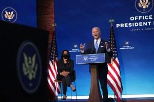 Biden va annoncer son plan de vaccination des Américains contre la COVID-19